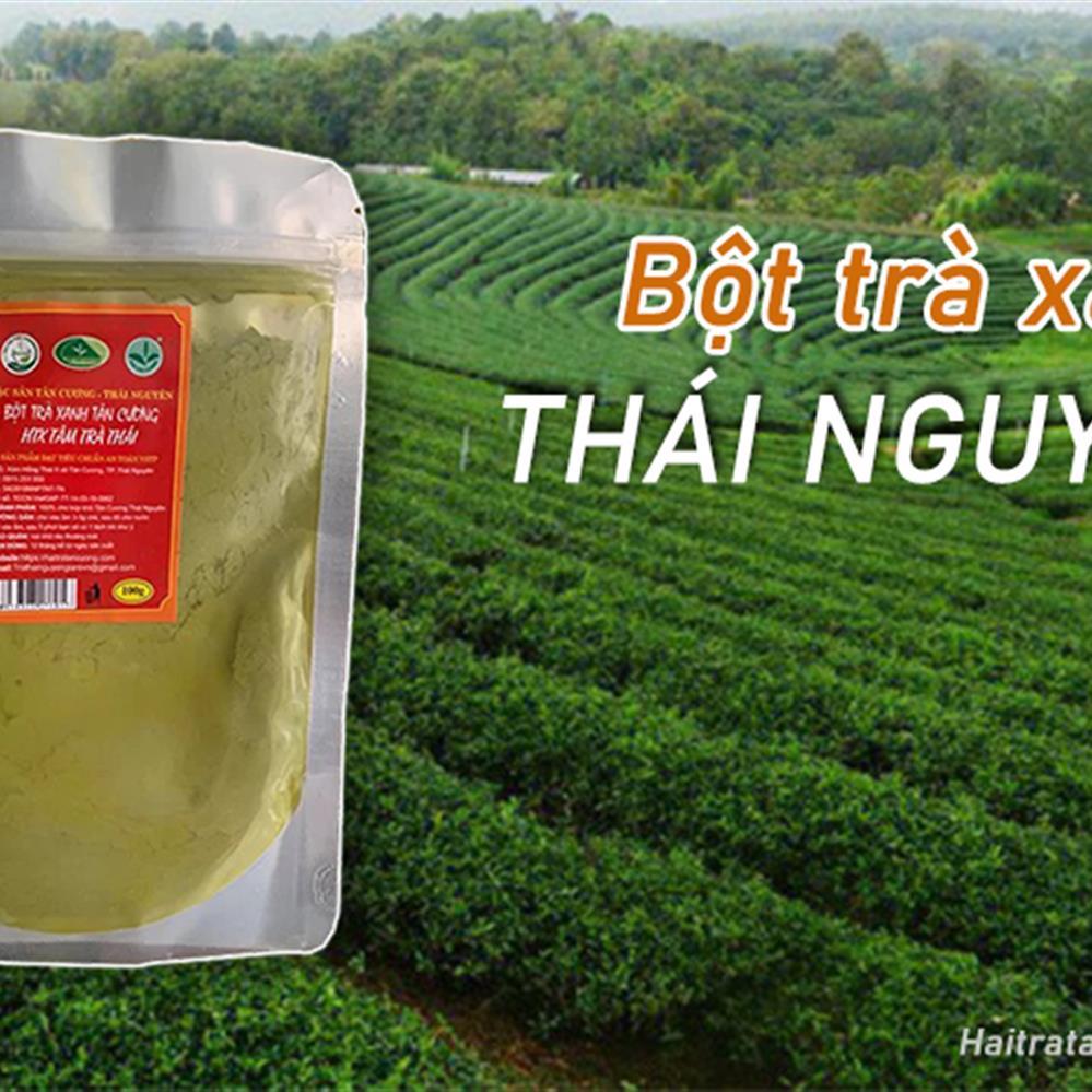 Hải Trà Tân Cương - Công dụng của bột trà xanh đối với sức khỏe - Ảnh 2