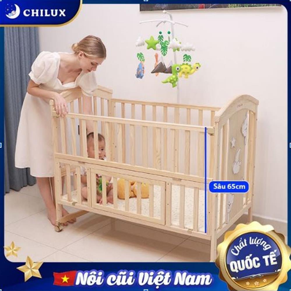 5 Lý Do Bố Mẹ Việt Ưa Chuộng Nôi Cũi Em Bé Chilux - Ảnh 4