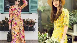 Học sao Việt cách diện váy hoa hot trend mùa hè cổ điển và sang trọng