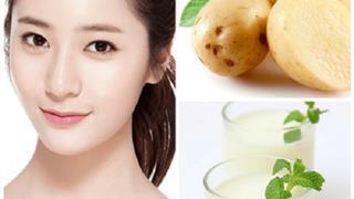 Làm đẹp bằng khoai tây giúp da trắng mịn với 4 công thức siêu đơn giản