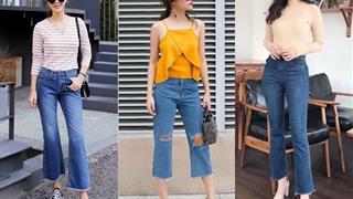 Gợi ý cách phối đồ với quần jeans lửng - Item trẻ trung, năng động cho bạn gái
