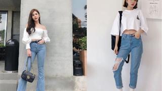Cách phối đồ với quần jeans cực sang chảnh và thời thượng đón Tết