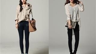 Sơ mi và quần jeans: Combo 'thường thôi' nhưng không thể thiếu của bất kỳ cô nàng nào