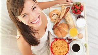 Thực phẩm cho bữa sáng giúp cân nặng 'tăng vù vù'