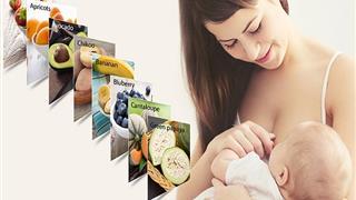 Những loại trái cây mẹ cho con bú nên ăn thường xuyên để tốt cho mẹ, khỏe cho con