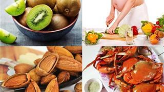 Những thực phẩm giàu canxi cho bà bầu và thai nhi khỏe mạnh